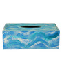 Rang Rage Multicolor Wooden Flowing Essence Tissue Box Holder