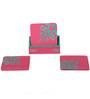 Rang Rage Hand-painted Royal Elegnace Coaster Set