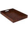 Rang Rage Hand-painted Sunkissed Earth Grand Tray
