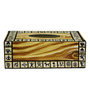 Rang Rage Handpainted Classic Warli Multicolour Wood Tissue Box