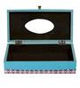 Rang Rage Monochrome Magic Multicolour Wooden Tissue Box