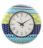 Rang Rage Multicolour MDF 16 Inch Classic Bright Hand Painted Round Wall Clock