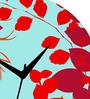 Rang Rage Scarlet Mapel Handpainted Round Clock