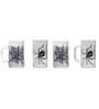 Rang Rage Web of Spider Handpainted Beer Mug  - Set of 4