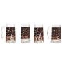 Rang Rage Zebra Signs Handpainted Beer Mug  - Set of 4