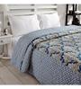 Ratan Jaipur Blue Cotton Quilt