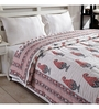 Ratan Jaipur Red Cotton Quilt