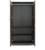 Rawat Lucerne Two Door Wardrobe in Brown Colour by Rawat
