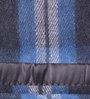 Raymond Home Blue Wool Single Size Blanket