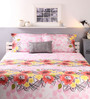 Raymond Home Multicolour Cotton Queen Size Bed sheet - Set of 3