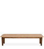 Rays Eight Seater Dining Bench in Natural Colour by @home