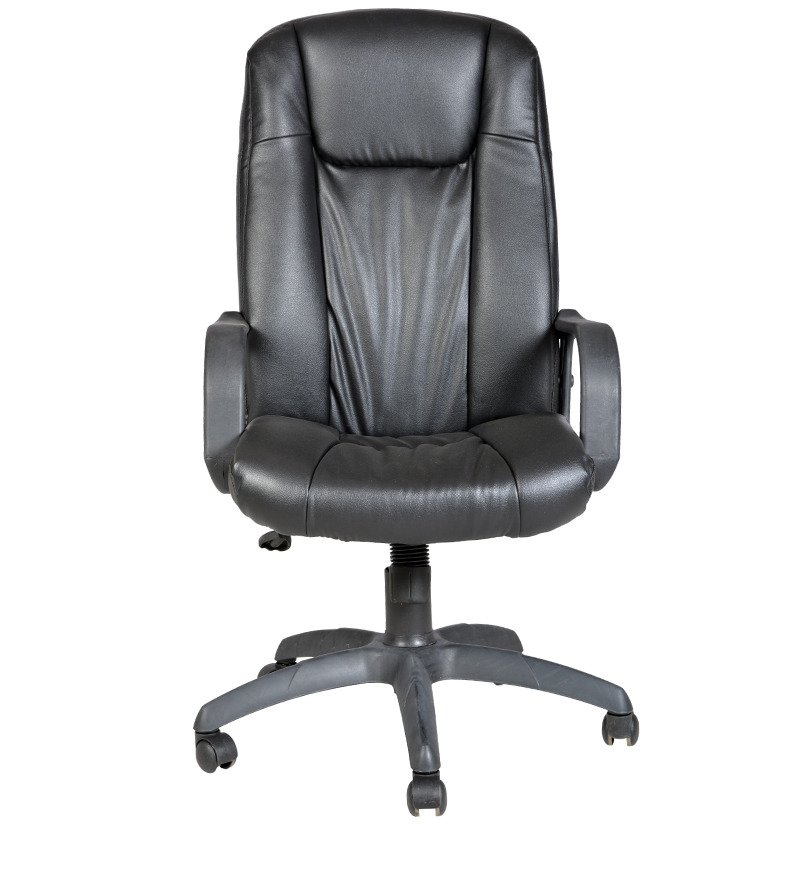 Regal High Back Office Chair In Black Colour By Durian By