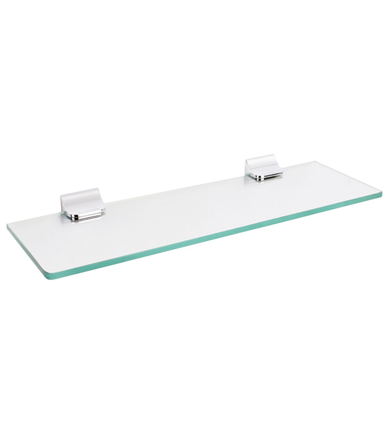 Innovative Home  Bathroom  Ceeley Tempered Glass Shelf  Two Shelves