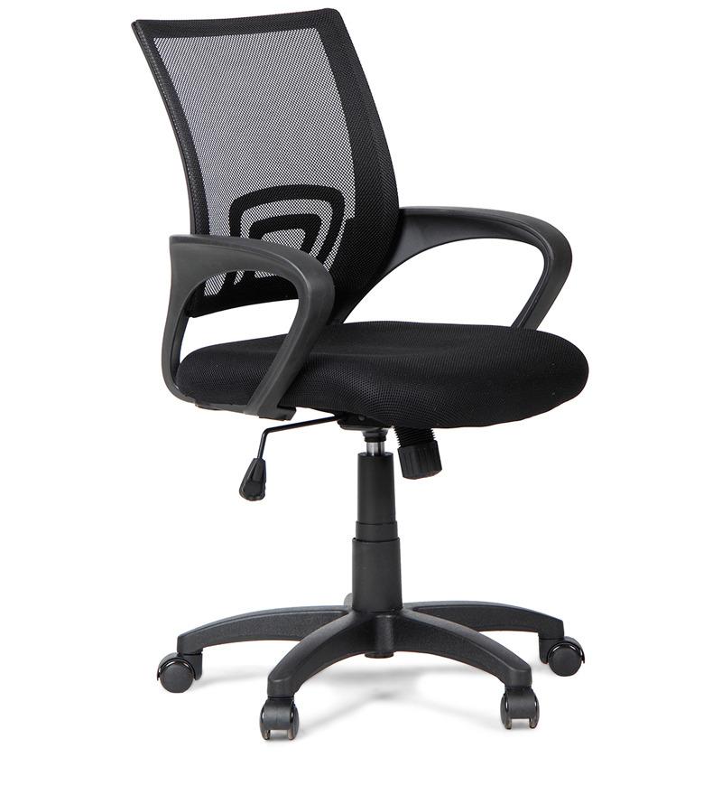 Regus Low Back Mesh Chair Black By Hometown By HomeTown Online Ergonomic Ch