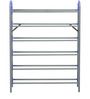 Redley Iron Shoe Rack in Blue Colour by Nilkamal