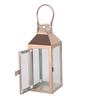 RedNBrown Brown Metal Small Lantern Candle Holder