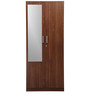 Reegan Two Door Wardrobe with Mirror by Nilkamal