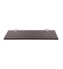 Teresina Contemporary Wall Shelf in Brown by CasaCraft