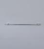 Regis Sula Series Silver Stainless Steel 24 x 3.5 x 1.6 Inch Bathroom Towel Rod