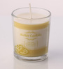 Resonance Butter Cookies Scented Natural Wax Shot Glass Candle