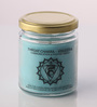 Resonance Meditation Candle - Throat Chakra Essential Oil Healing Therapy Scented Candle
