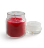 Resonance Candles Strawberry Aroma Scented Natural Wax Jar Candle