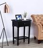 Restwold End Table in Espresso Walnut Finish by Amberville
