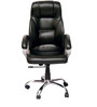 (Free Kid Chair)Rex Executive High Back Chair in Black Color By VJ Interior