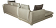 RHS Sectional Sofa in Ivory Beige Colour by Parin