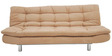 Richmond Sofa cum Bed in Camel Colour by Furny