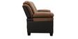 Rio Three Seater Sofa in Brown Colour by Royal Oak