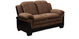 Rio Two Seater Sofa in Brown Colour by Royal Oak