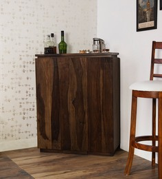 Oakland Branco Bar Cabinet In Provincial Teak Finish By Woodsworth