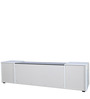 Rico High Gloss Entertainment Unit in White Colour by HomeTown