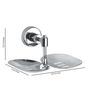 Rigma Vega Metallic Stainless Steel Double Soap Dish