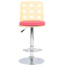 Ring Bar Chair in Pink by The Furniture Store