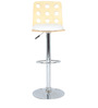 Ring Bar Chair in White by The Furniture Store