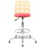 Ringon Bar Chair in Pink by The Furniture Store