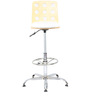 Ringon Bar Chair in White by The Furniture Store