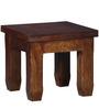 Morton Grande End Table in Provincial Teak Finish by Woodsworth