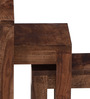 Toston Ivy Set of Tables in Provincial Teak Finish by Woodsworth