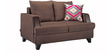 Roman Reverie Two Seater Sofa in Coffee Brown Colour by Urban Living