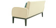 Rome Three Seater Sofa in Cream Colour by Furnitech