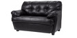 Rosabelle Comfy Two Seater Sofa in Black Colour by Furny