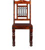 Fontana Dining Chair in Honey Oak Finish by Amberville