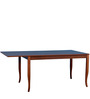 Rodi Six Seater Dining Table with Extension by Forzza