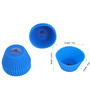Rolex Silicon Cup Cake Mold - Set of Ten