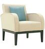 Rome One Seater Sofa in Cream Colour by Furnitech