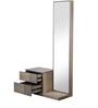 Adriano Dresser-Mirror Set in Belgian Oak Finish by CasaCraft