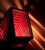 Sylvn Studio Red Rondeur Table Lamp